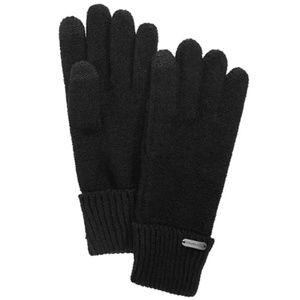 Steve Madden Boyfriend Touchscreen Gloves Black